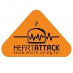 Logo Heart Attack Fried Chicken